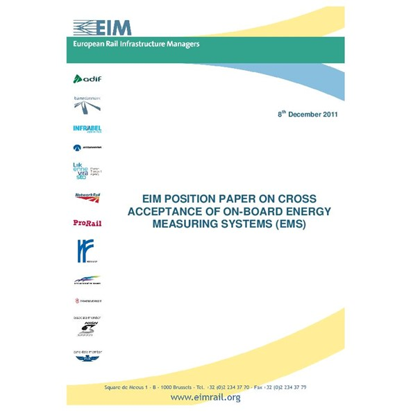 EIM Cross Acceptance of Energy Measuring Systems