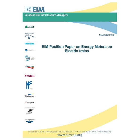 EIM Position Paper on Energy meters